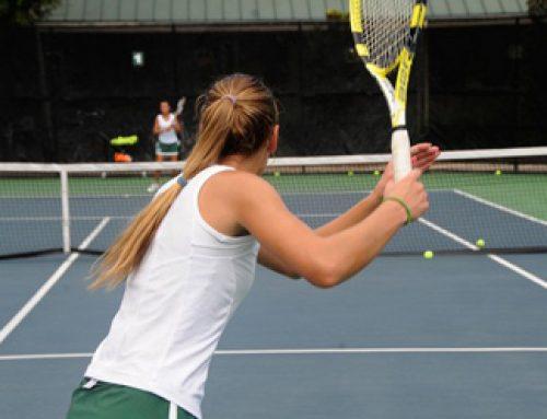 Para Tati Ruiz, el tenis es una pasión y los transmite a sus alumnos.