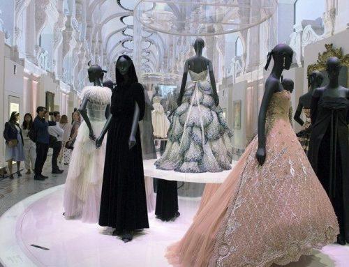 La moda invade los museos.