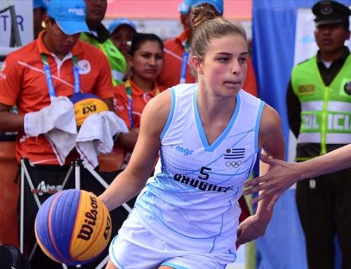 La basquetbolista uruguaya que viajó al Campus de la NBA